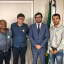Vereadores participam de reunião com Rodrigo, presidente da FUNASA